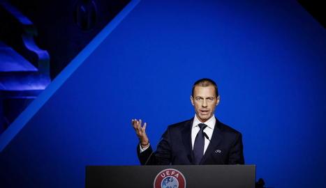 L'eslovè Aleksander Ceferin, president de la UEFA.