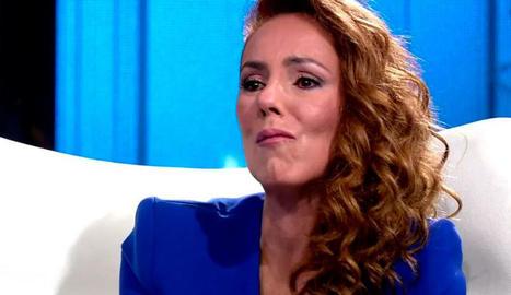 Rocío, a la macroentrevista de Tele 5.