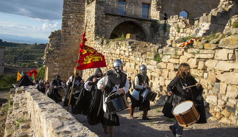 Ciutadilla va reviure ahir la seua festa medieval sense públic forà.