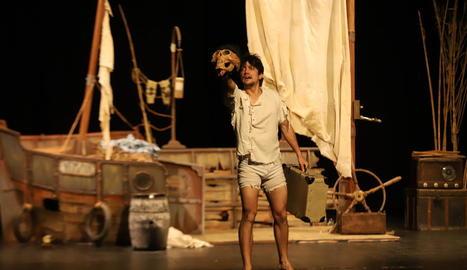 'Rob', dels valencians Teatre de l'Abast, ahir a l'Escorxador.