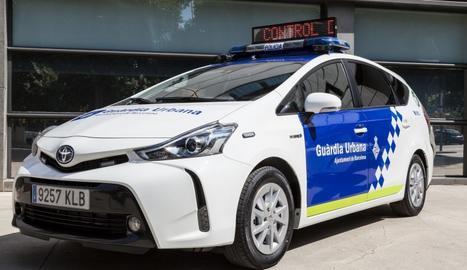 Un vehicle de la Guàrdia Urbana de Barcelona