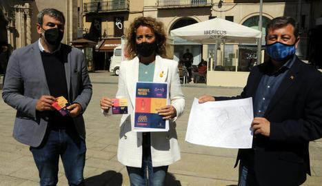La Paeria repartirà 400 cartells i 10.000 adhesius a zones comercials de Lleida per recordar les mesures anti covid-19