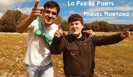 Miquel Montoro col·labora en la primera cançó del disc de Lo Pau de Ponts