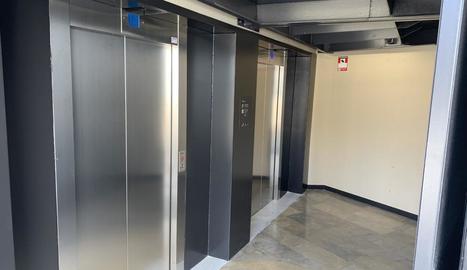 En servei de nou els ascensors entre el Canyeret i la Seu Vella de Lleida