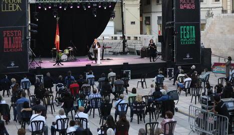 Imatge del concert de La M.O.D.A. ahir a la nit als Camps Elisis.