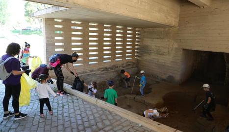 L'activitat va ser organitzada per Osmon, Rocenaccio i Lulu Clean Planet.