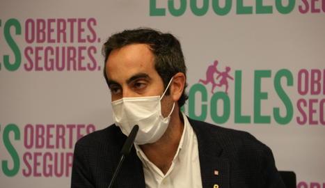 El secretari de Salut, Marc Ramentol.