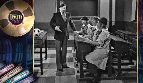 Una de les escenes de 'Los payasos de la tele', amb els quatre protagonistes.