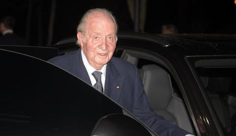 El rei emèrit Joan Carles I en una fotografia d'arxiu.
