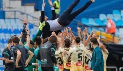 L'Espanyol celebrant l'ascens.