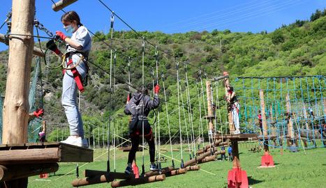 El turisme del Pallars Sobirà recupera les visites de grups d'escolars