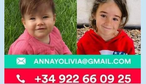 Anna i Olivia, les dos nenes desaparegudes a Tenerife.