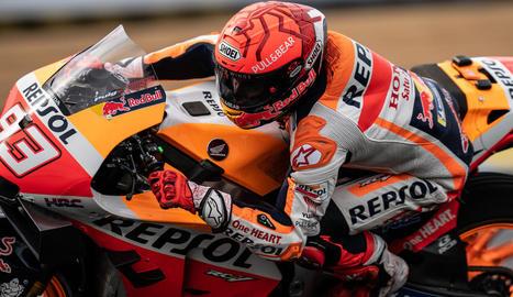 L'australià Miller guanya sota la pluja i Marc Márquez cau dos vegades i abandona a Le Mans