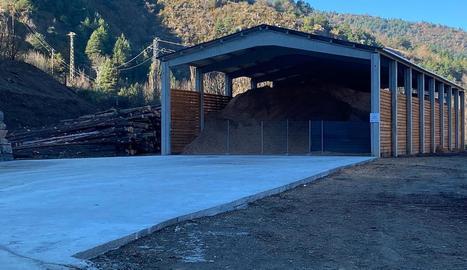 Martinet va estrenar el primer centre logístic de la Diputació.