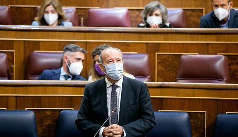 El ministre de Justícia, Juan Carlos Campo, aquest dijous al Congrés.