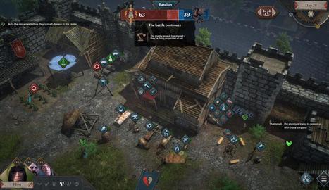 Siege Survival Gloria Victis: Supervivència i construcció