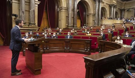 Sessió del Parlament, a TV3