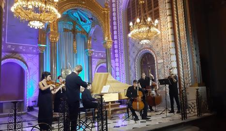 L'orquestra Vespres d'Arnadí va clausurar l'última edició, el 2019.