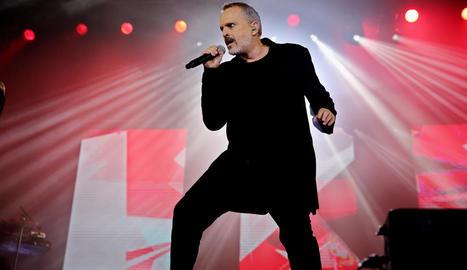 Imatge d'arxiu del cantant Miguel Bosé.