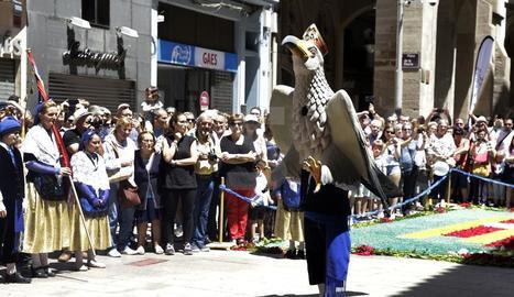 Imatge de les Festes Tradicionals de corpus anys enrere