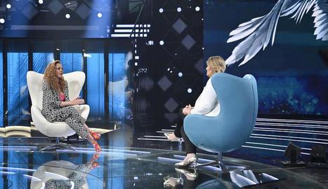 La sèrie sobre Rocío Carrasco va acabar amb una llarga entrevista, amb bones dades d'audiència.