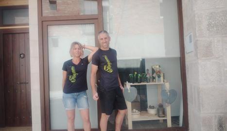 Montse Gras i Xavier Gaya, promotors de l'establiment.
