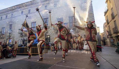 Els diables Carranquers celebren dissabte la festa anual.