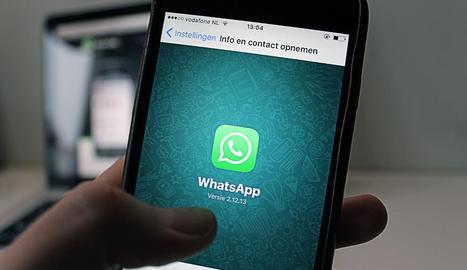 dependència. Whatsapp s'ha convertit en una eina gairebé imprescindible per a la comunicació del segle XXI.