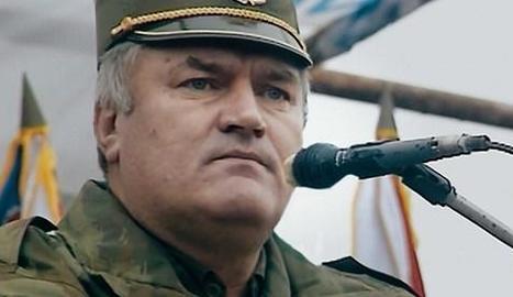 El general serbobosnià Ratko Mladic, a la guerra dels Balcans.