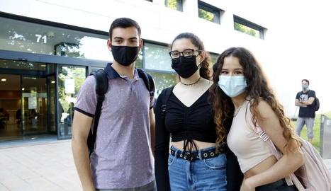 Arrenca la selectivitat a Lleida amb 13 aules menys que el 2020 tot i haver-hi cent alumnes més