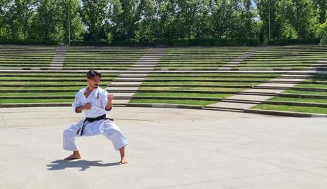 El karate és un esport que s'estrena com a olímpic a Tòquio.