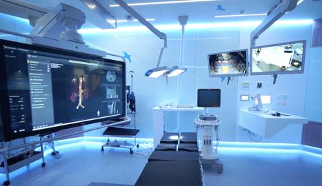 Enginyeria Audiovisual al Bloc Quirúrgic de l'Hospital Sant Joan de Déu