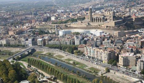 L'Ajuntament de Lleida durà a terme una millora ambiental al tram urbà del riu Segre
