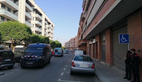 Desnonament al carrer Carrasco i Formiguera de Lleida