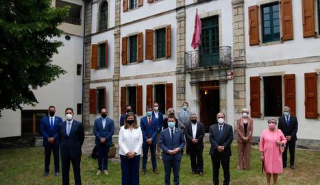 Aragonès es compromet a desplegar la Llei d'Aran i iniciar una nova etapa de cooperació entre Govern i Conselh Generau