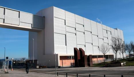 L'edifici polivalent annex a l'Hospital Universitari Arnau de Vilanova de Lleida.