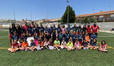 Jornada de Promoció del Futbol Femení al Pla d'Urgell