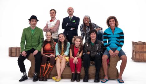 Els principals personatges del programa 'La família del Super3'.