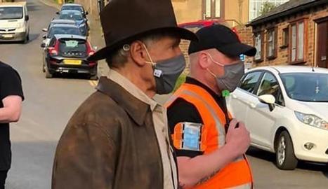 Harrison Ford ja roda la nova d'Indiana Jones