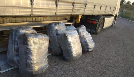 Els Mossos van trobar 220 quilos de marihuana el juliol de l'any passat en un camió a Sidamon.