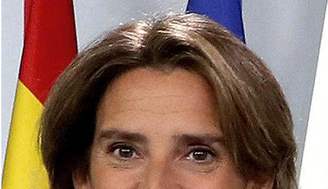 La ministra Teresa Ribera.