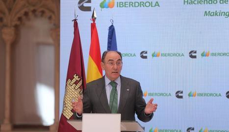 Imatge d'arxiu del president d'Iberdrola, Ignacio Sánchez Galán.