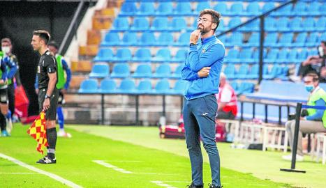 Molo, durant un partit de la temporada anterior, serà el nou entrenador de l'Águilas.