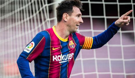 Leo Messi ja no és des d'avui jugador del Barça, encara que la renovació està pactada.