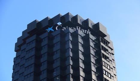 La seu corporativa de Caixabank a Barcelona.
