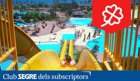 Un món de diversió, amb impressionants atraccions aquàtiques, us espera a l'Aquopolis Costa Daurada