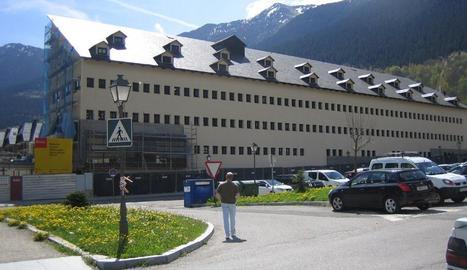 L'institut d'Aran que es proveirà amb energia geotèrmica.