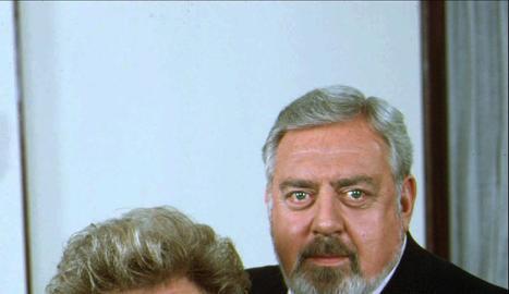 Perry Mason i la seua secretària.