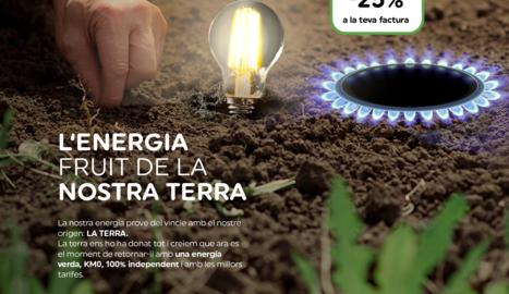 Els valors d'Energia Nufri. Una energia verda, KM0 i independent