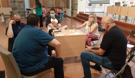 Un dels tallers celebrats ahir a la Seu d'Urgell.